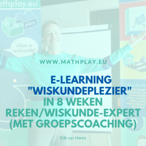 E-Learning Wiskundeplezier start 26 oktober